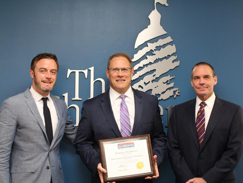 The Greater Springfield Chamber of Commerce Awarded 5-Star Accreditation by the U.S. Chamber of Commerce